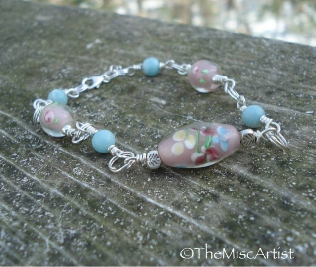 Spring Amazonite bracelet